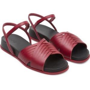 Camper Atonik K200788-004 Sandals for Women Γυναικεια Κοκκινα Πεδιλα